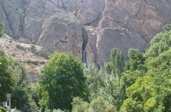 آبشار شاهاندشت - لاریجان - شهریور 91