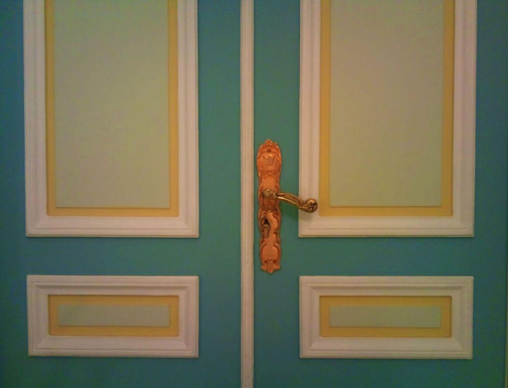 a closed door...