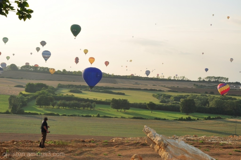 mondial Air Ballons 2011 serie / Chambley