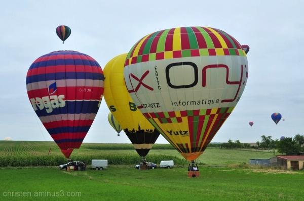 mondial Air Balloons  serie / Chambley 2011
