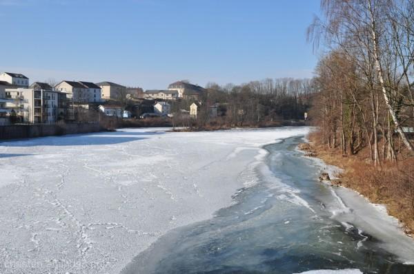 freezing landscape