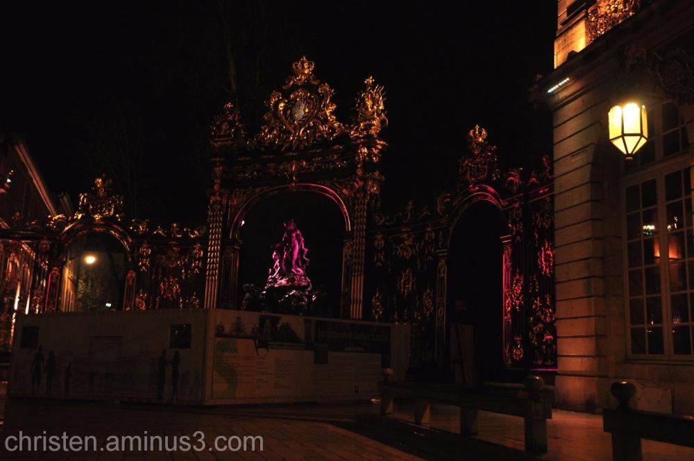 Stanislas' place and it's lighting