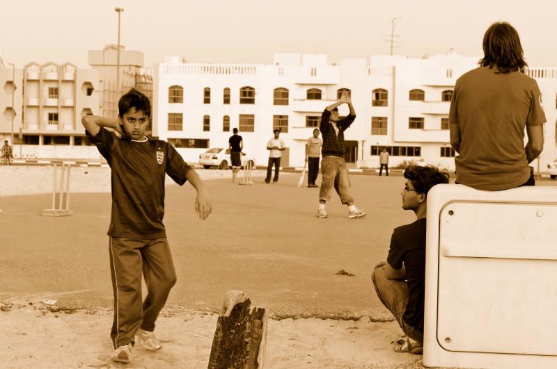 Cricket in Dubai