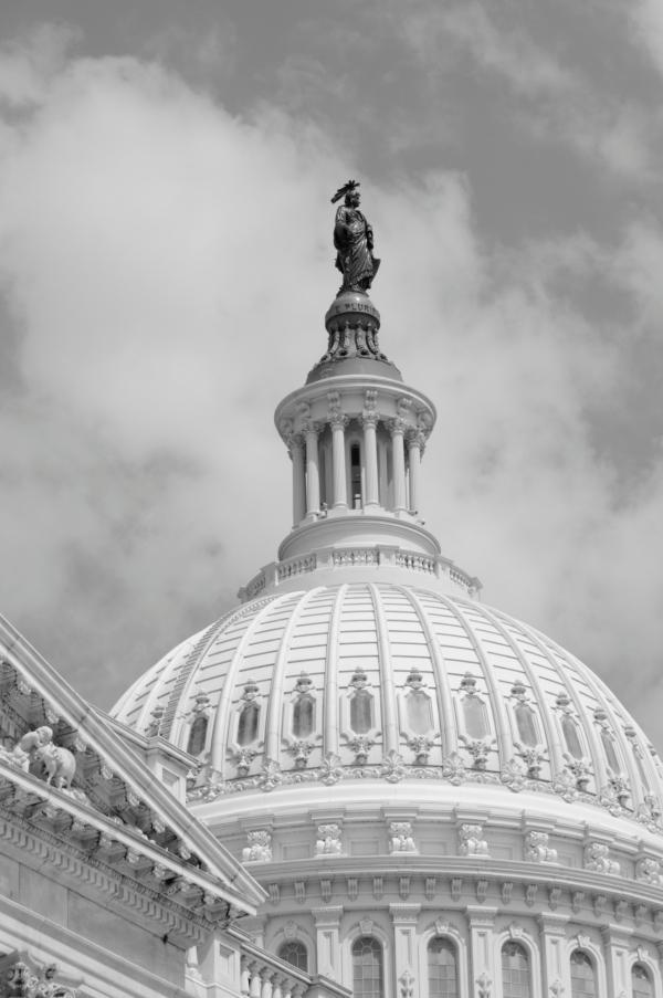 Liberty turned grey
