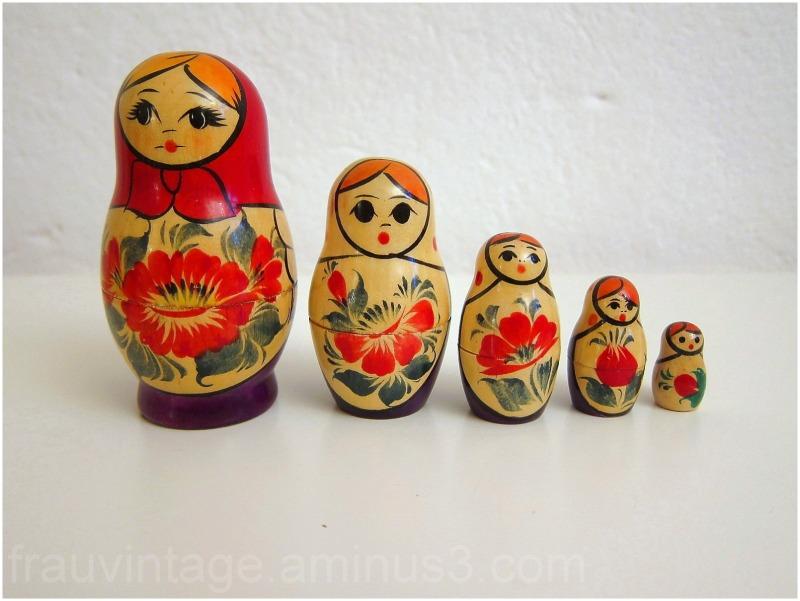 Vintage Matryoshka