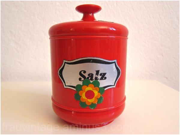 emsa kitchen supplies original 1970s pop red
