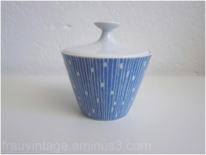 Schönwald 50s Vintage Ceramic Porcelain Sugar Pot