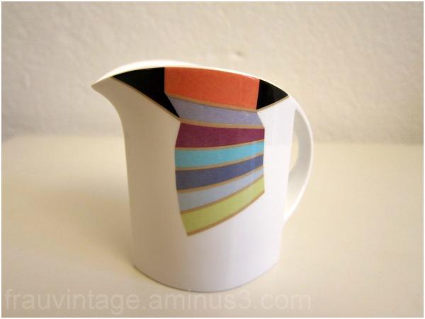 Villeroy Boch Baleno Milk Jug Retro Pattern
