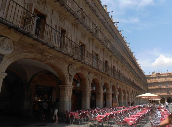 Plaza Mayor -Salamanca (by day)