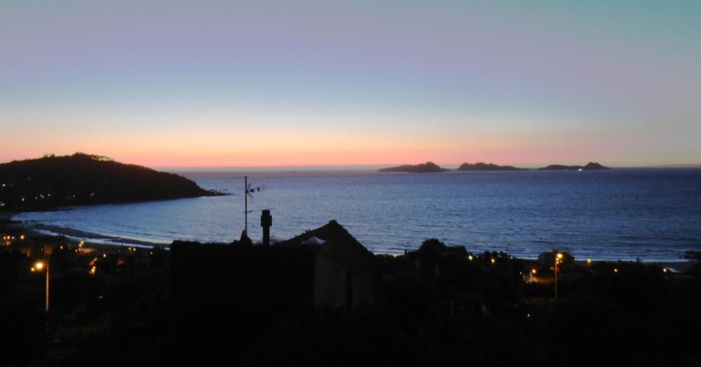 Sunset before the milonga