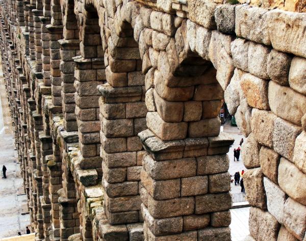 Acueducto de Segovia- Spain