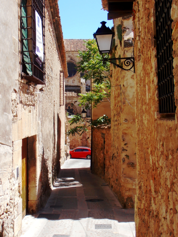 Any street in Cuenca