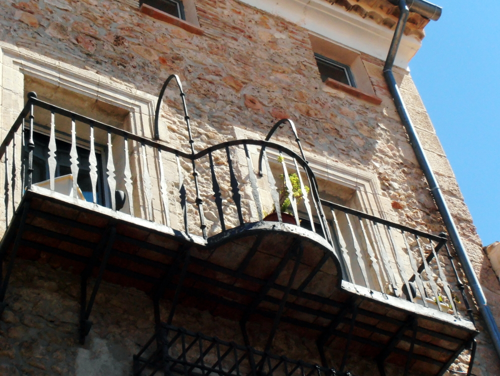 Not the Romeo and Juliet, but it´s also a balcony.