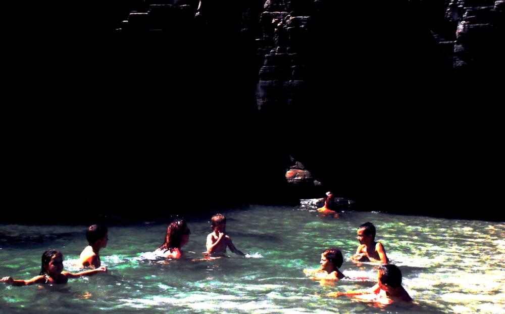 Pool between the rocks