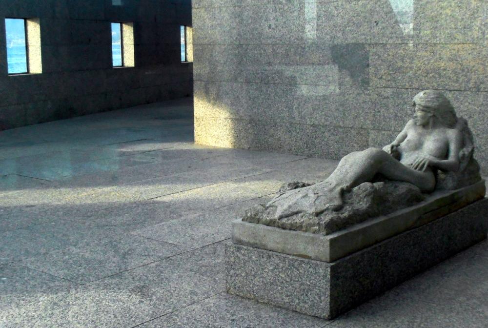 Mermaid in the Sea Museum Vigo