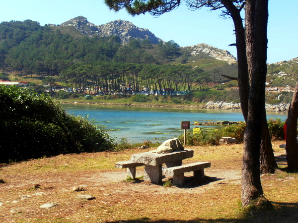 A corner in the Cies Islands (Spain)