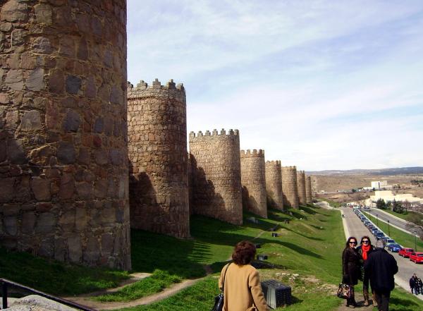 Wall of Avila (Spain)
