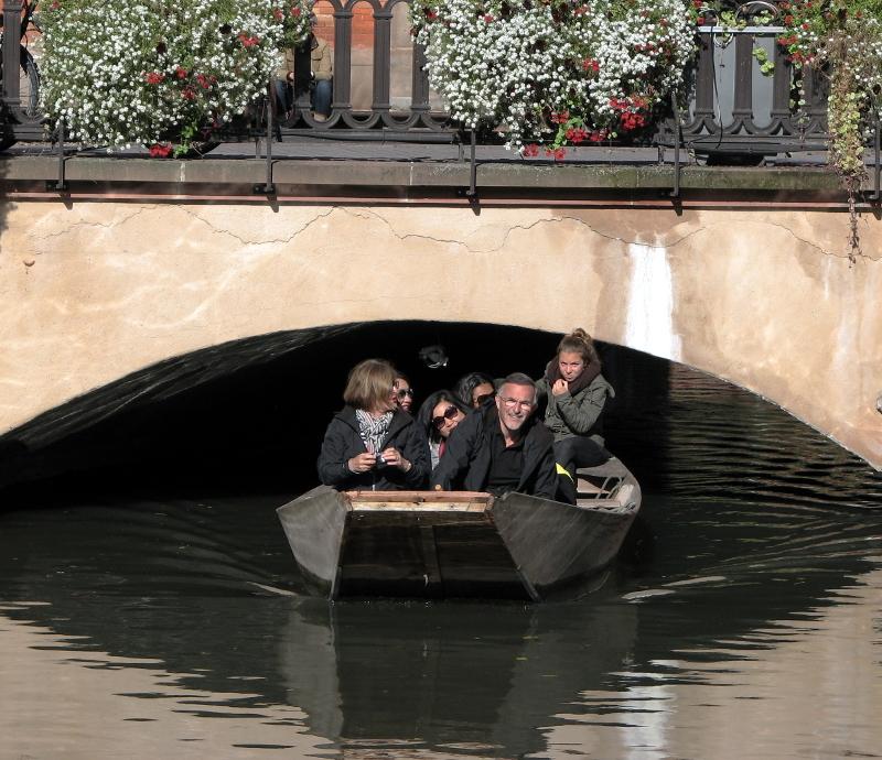 Careful!!!, with the bridge