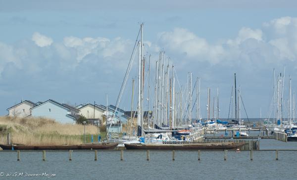 haventje bij Den oever