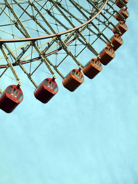 Ferris wheel of Yokohama Cosmo World