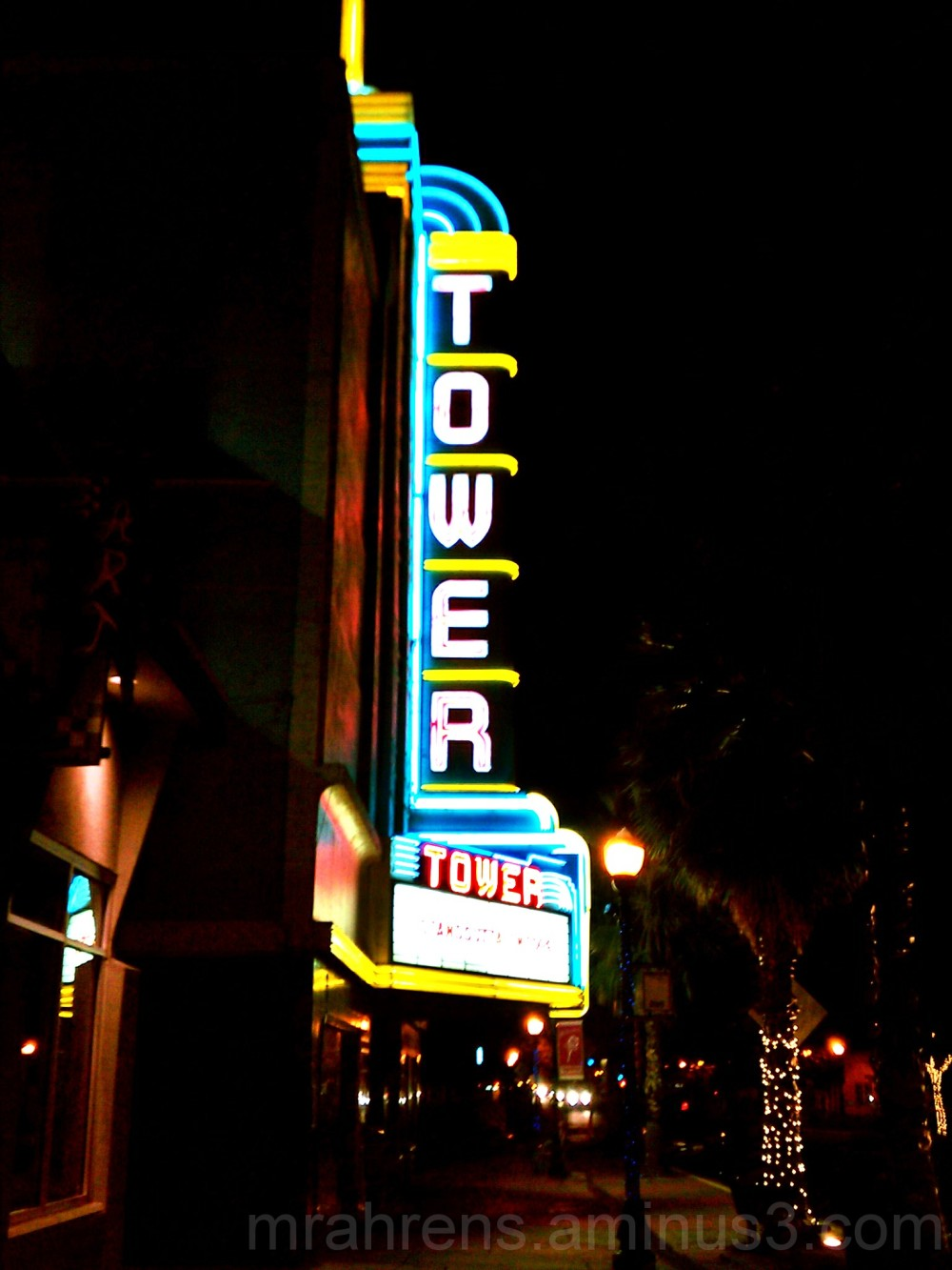 The Tower Theatre in Roseville, CA