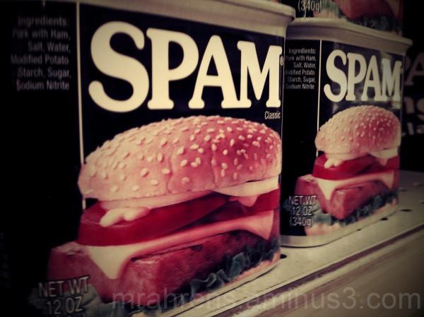 Wonderful Spam, Wonderful Spam