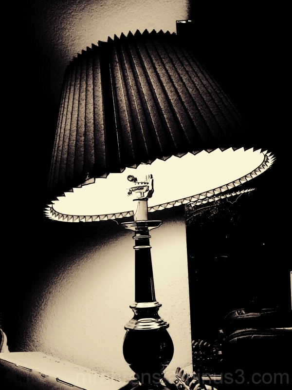 Lamp Noir