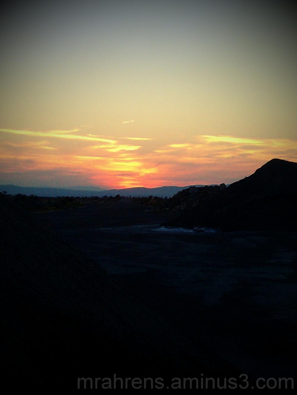 Nevada Sunset 1