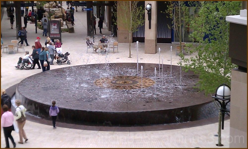 City Creek Fountain