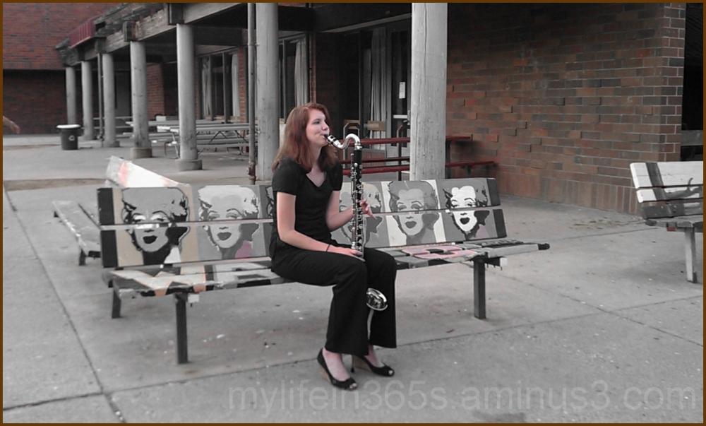Warhol Bass Clarinet