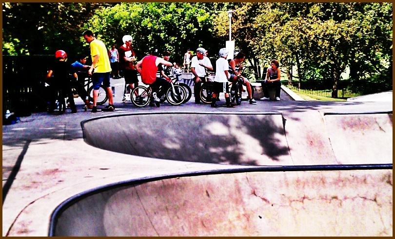 Skate Park Posturing