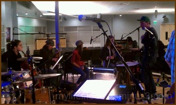 Stage Band Rehearsal