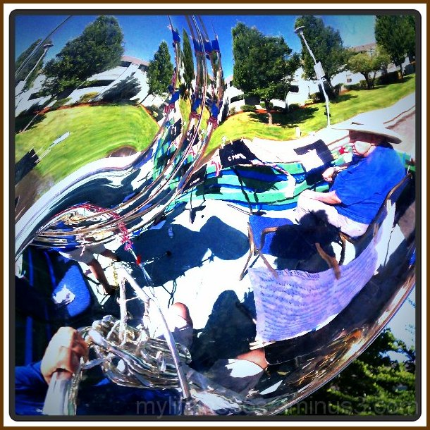 Sousaphone Reflection