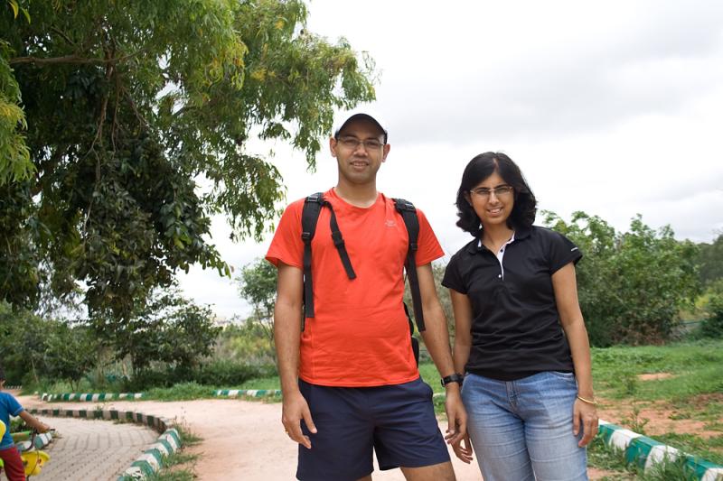 At Kaikondrahalli Lake, Bangalore