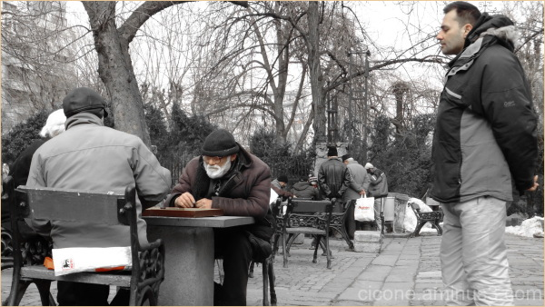 Backgammon-Cismigiu Park - Bucharest