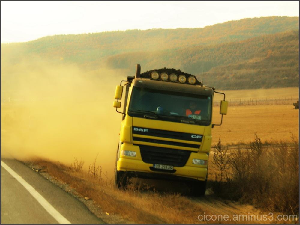 Off road...