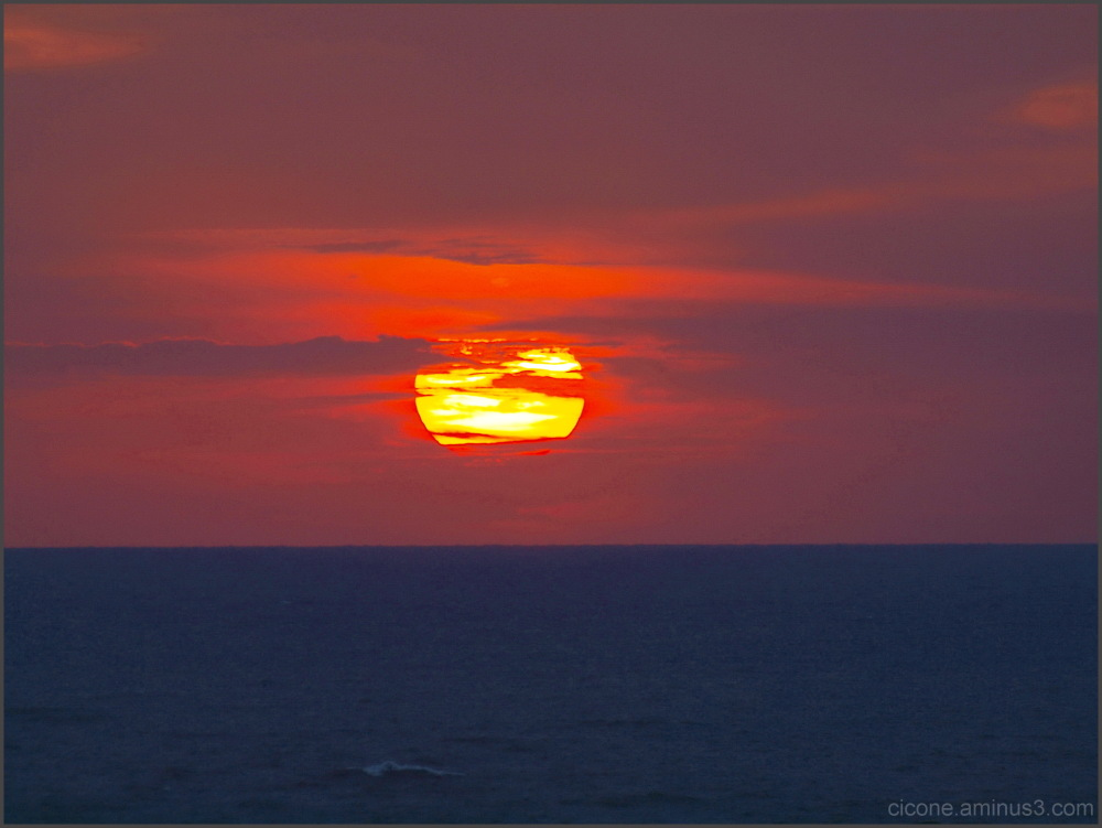 Sunrise, this morning