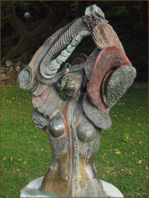 Le sculture di Manuela Fanelli