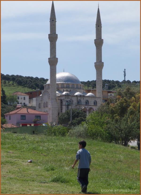 Mosque in Aliaga