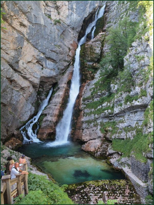 Boka Waterfall, Slovenia