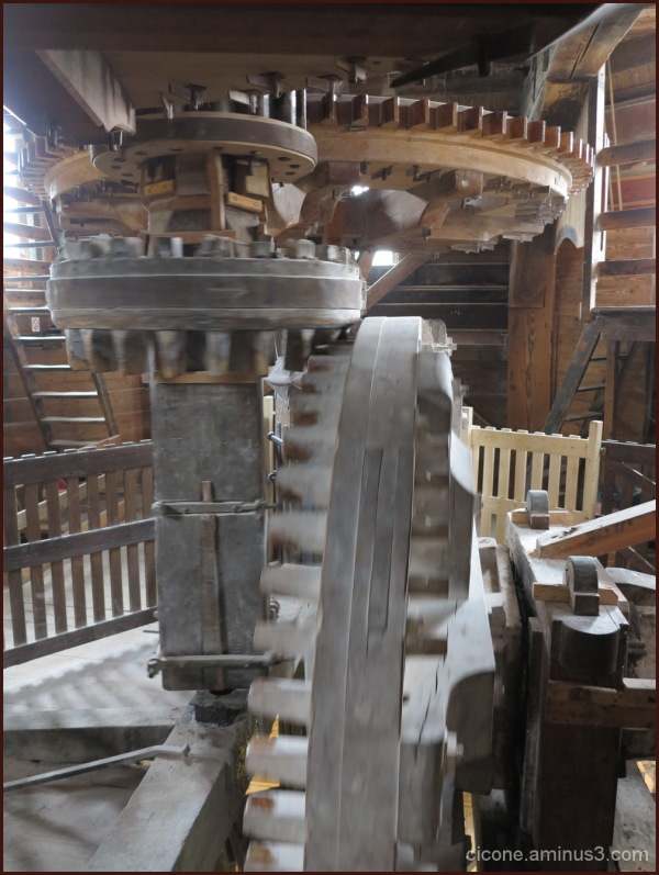 Zandaam - inside the mill
