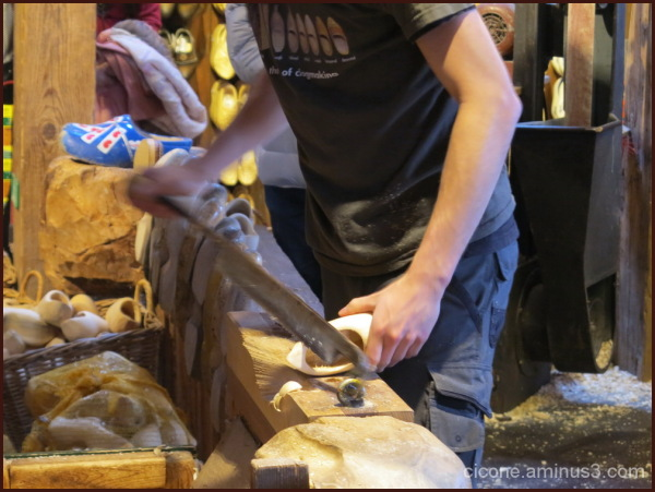 Dutch clogs wooden