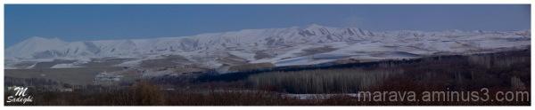 Panoramio of  Sahand Mountain