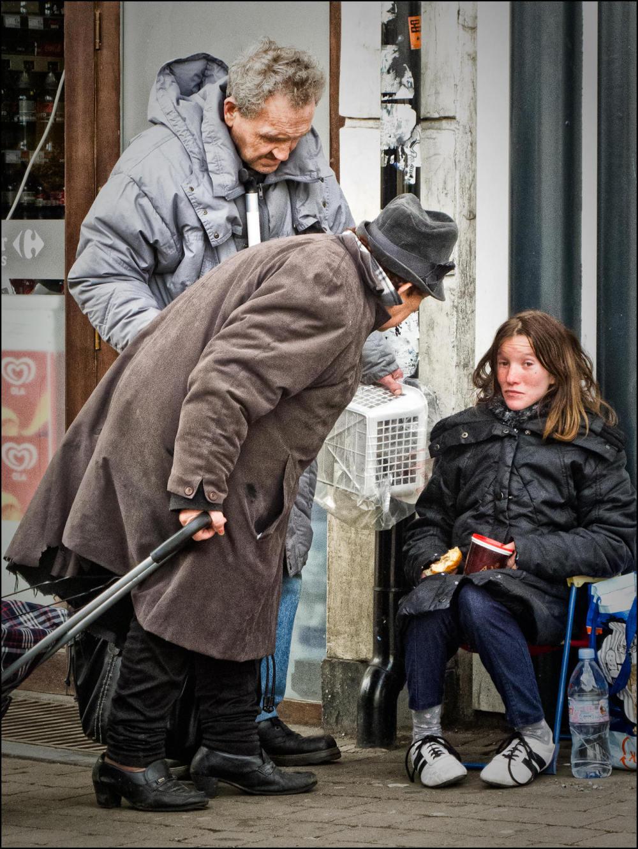 beggar, street photography