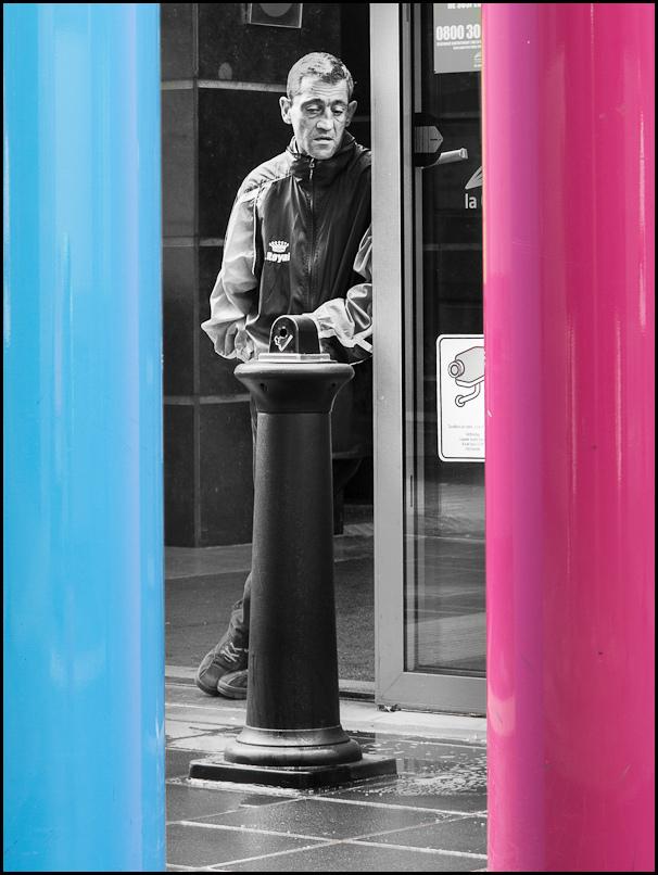 beggar street photography