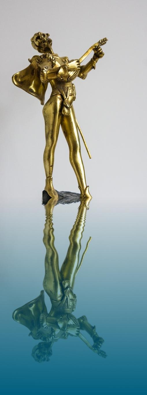 sculpture musician