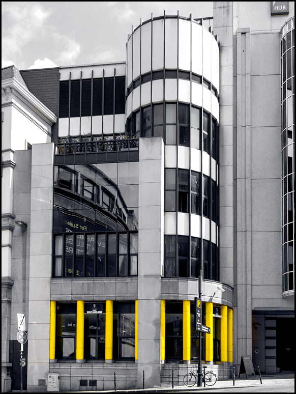 architecture, building, yellow