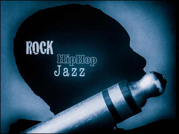 rock, hiphop, jazz