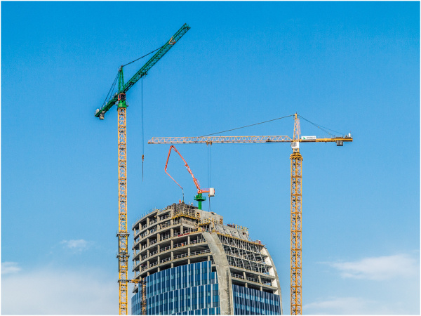 building, crane