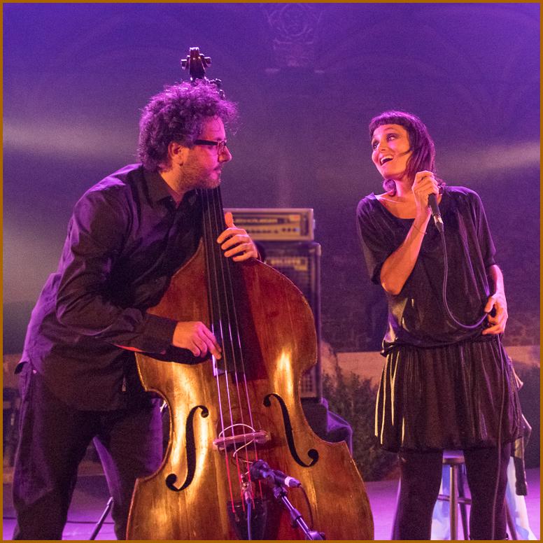 musicians, singer, double bass